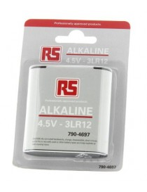 Batteria RS PRO Alcalina, 4.5V, 4400mAh