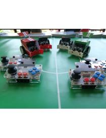 Set 4x Robot-Calciatori con...