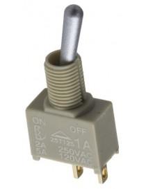Interruttore a levetta IP67 a ritenuta SPDT