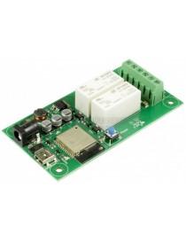 ESP32LR20 - WIFI 2 x 16A...