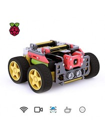 AWR 4WD WiFi Smart Robot Car Kit for Raspberry Pi 3