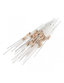 Resistor 10K Ohm 1/4 Watt PTH - 20 pack (Thick Leads)