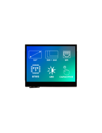 RiTFT-35-CAP TFT display capacitive touchscreen