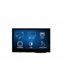 "RVT4.3A480272CNWC36 TFT Display 4.3"" CAP"