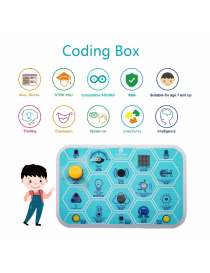 keyestudio kidsbits Maker coding box V1.0 starter kit for Arduino STEM Education 7+