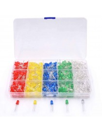 5MM LED matching plastic boxes