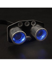 Glowing Ultrasonic Sensor