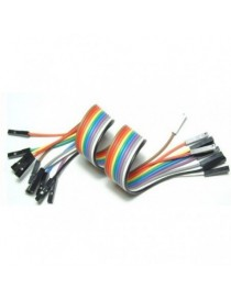 """Jumper Wires 9"""" F/F (10 Pack)"""
