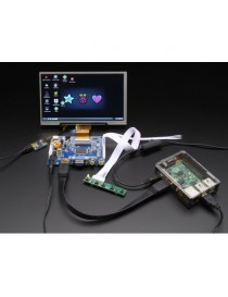 "HDMI 4 Pi: 7"" Display &..."