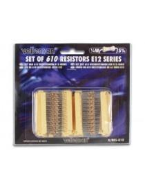 Set 610 Resistenze 1/4W