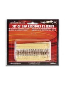 Set 480 Resistenze 1/4W