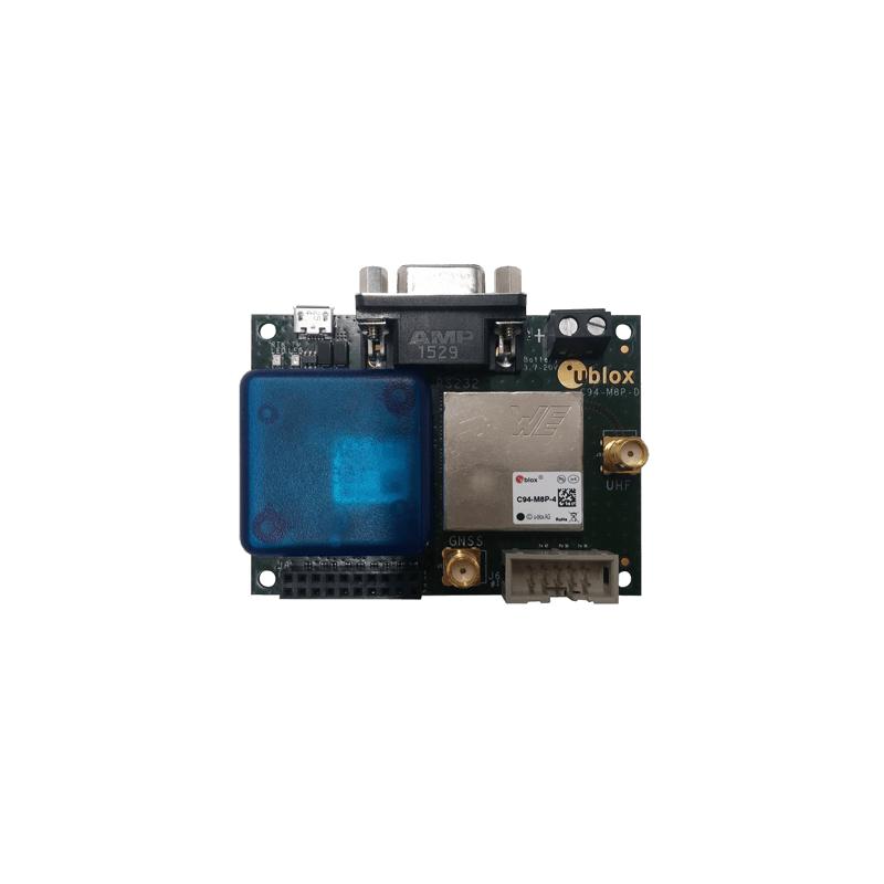 C94-M8P u-blox RTK application board package Europe (433 MHz)