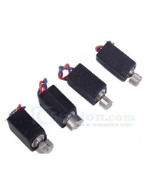 10pcs 4x8mm Micro Vibration Motor 1-3V 5400RPM 60mA With Wire