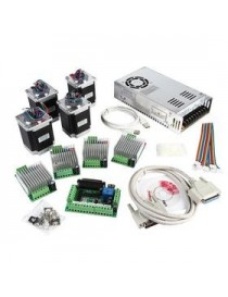 CNC 5-Axis Kit 3 with TB6600 Motor Driver Mach3, Breakout Board,
