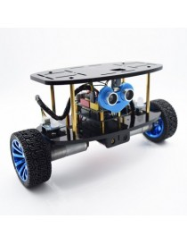 2-Wheel Self-Balancing Upright Car Robot Kit for Arduino UNO