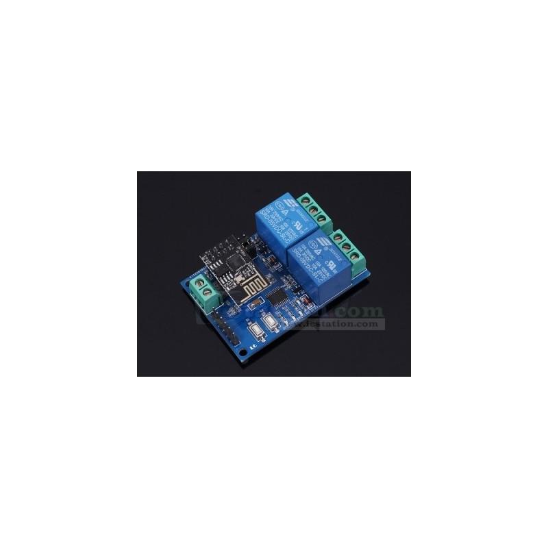 ESP8266 WiFi 5V 2 Channel Relay Module IOT Smart Home Remote Con