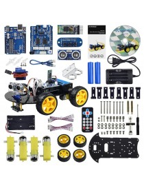 Smart Bluetooth Robot Car Kit - UNO R3 for Arduino