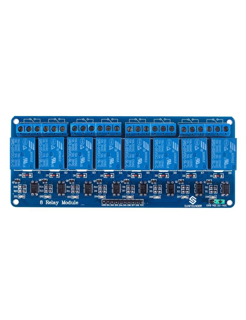 8 Channel 5V Relay Shield Module