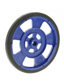Blue mobile robot wheel for...