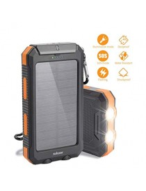 10000 mAh Solar Power Bank