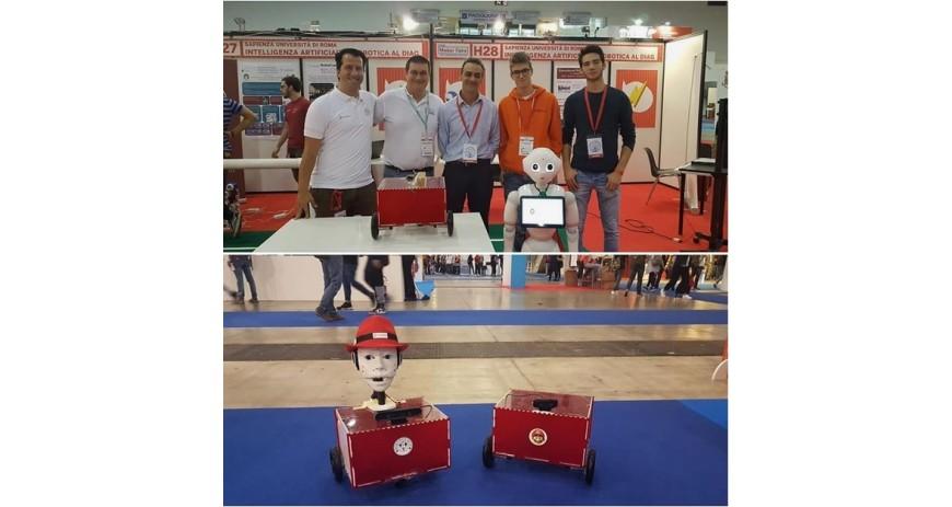 Grande successo di Marrtino Robotic platform open souce