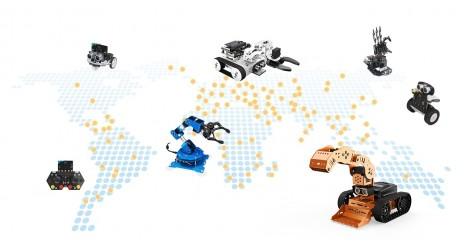 Robotics 3D distributore ufficiale HIWONDER