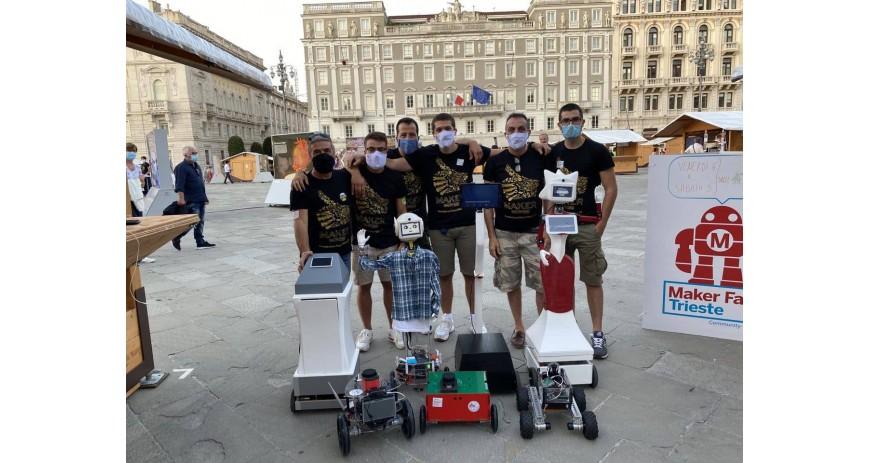 Robotics 3D Sponsor al Makerfaire Trieste