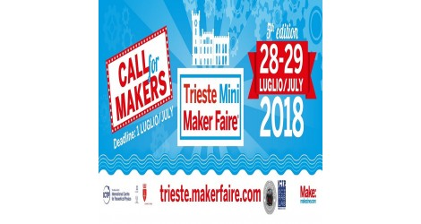 Robotics 3D sponsor al Mini Maker Faire di Trieste