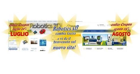 Nuovo sito  Web Robotics 3d