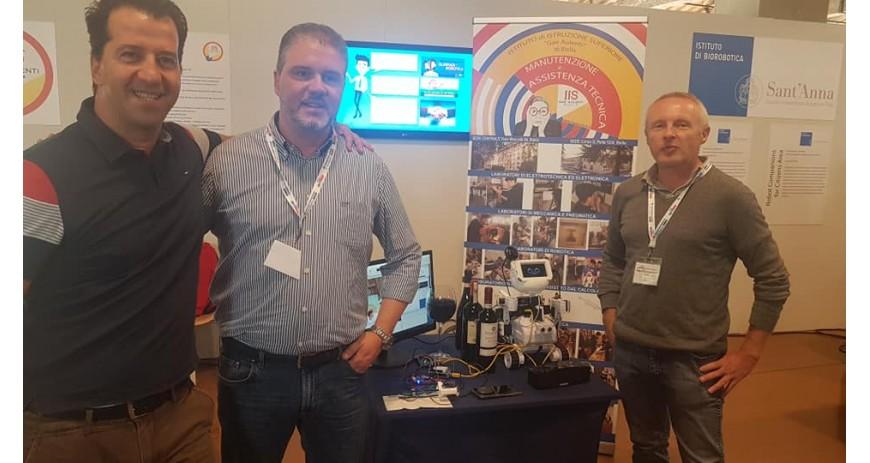 Robotics 3D al Festival di Robotica di Pisa